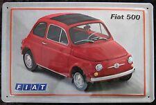 FIAT 500 TARGA DI LATTA