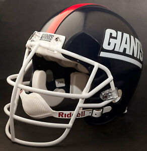 low priced 7653f ff482 Details about NEW YORK GIANTS Football Helmet Nameplate