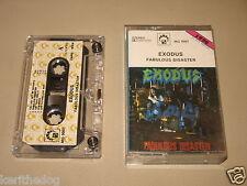 EXODUS - Fabulous Disaster - MC Cassette un/official polish tape 1990