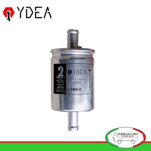 Ydea L//14LV-2 Filtro GAS GPL in linea a montaggio verticale FIAT RENAULT OPEL