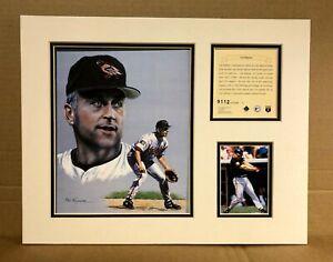 Baltimore Orioles Cal Ripken Jr 1995 Baseball 11x14 MATTED Kelly Russell Print