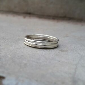 Set-of-3-Ultra-Thin-Hammered-Twist-Sterling-Silver-Stacking-Rings-Dainty-Ring