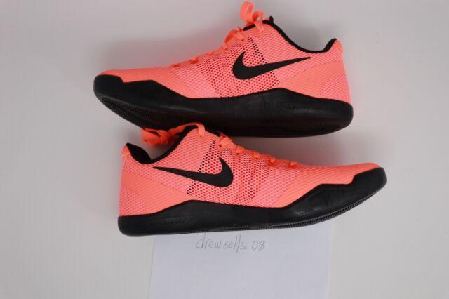 separation shoes c0e12 16904 Nike Kobe XI 11 Low Barcelona Bright Mango Size 12 Mens 836183 806