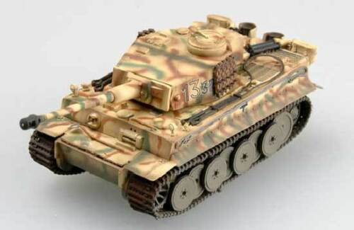 EASY Model TIGER I EARLY presto SS teaux Kursk 1943 Russia 1:72 Trumpeter Russia