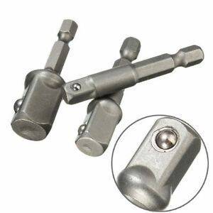 Adattatore-Socket-Set-Gambo-Esagonale-A-1-4-034-3-8-034-1-2-034-Punte-Trapano-Impact-Driver