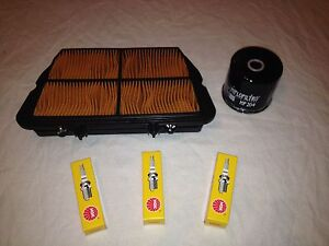 Triumph Tiger 800 Service Kit Oil Filter Air Filter Spark Plugs Washer