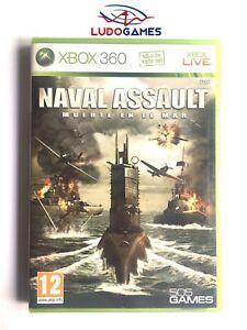 Naval-Assault-Death-en-El-Mer-Xbox-360-Neuf-Scelle-Scelle-Nouveau-Pal-Spa
