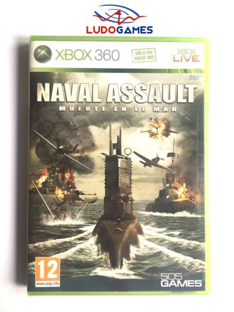 Naval Assault Muerte en el Mar Xbox 360 Nuevo Precintado Sealed New PAL/SPA