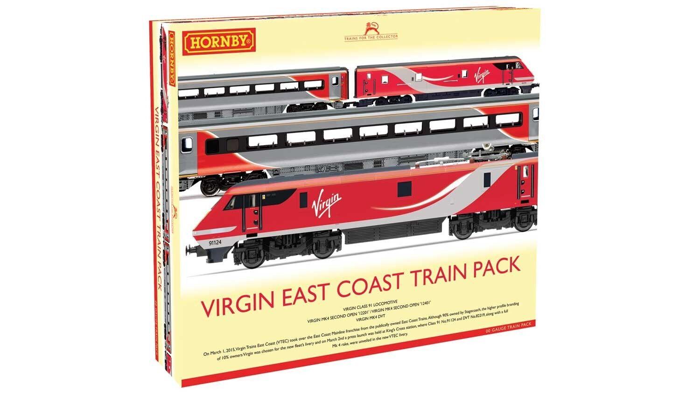 Rivarossi R3501, scala HO, Virgin East Coast Treno PackEDIZIONE LIMITATA
