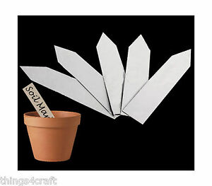 Image Is Loading Plastic Plant Pot Markers Sticks Nursery Garden Labels
