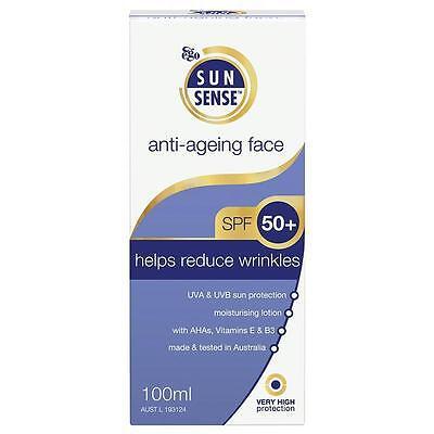 Sunblock Window Tint >> Ego SunSense SPF 50 Anti-Ageing Face Sunblock 50g ...