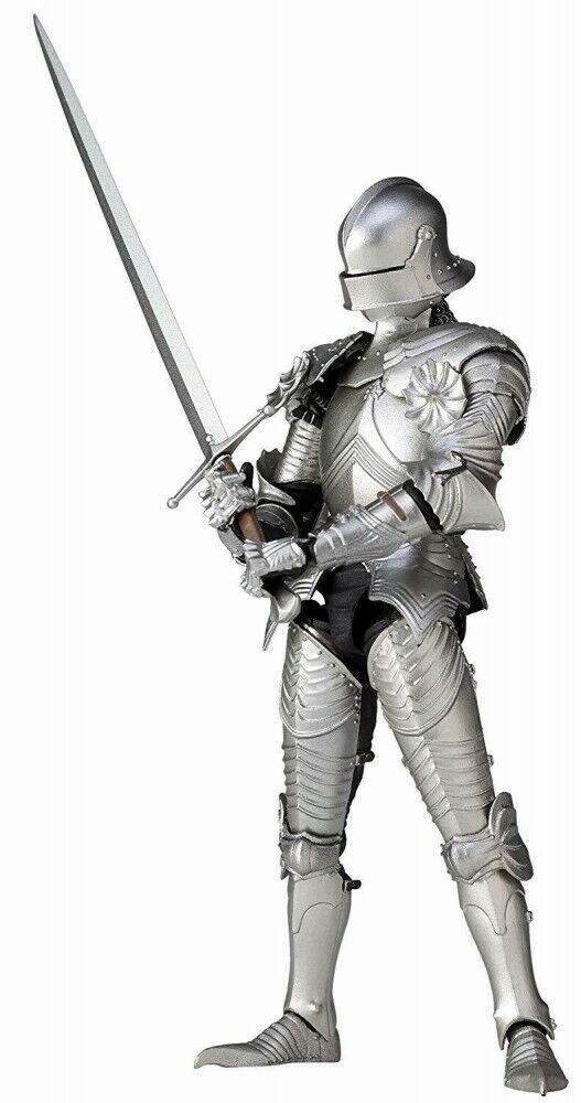 centro comercial de moda TK-021 Takeyashiki 15th Century Gothic Field Armor Armor Armor plata Acción Figura Kaiyodo  100% precio garantizado