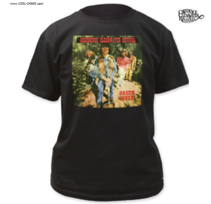 Creedence Clearwater Revival Green River Kids T Shirt CCR Rock Band Youth Boy
