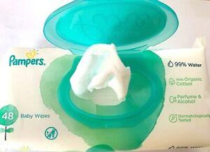 2-00-Pack-9x-Pampers-Aqua-Pure-Feuchttuecher-99-Wasser-Kosmetiktuecher-Schminke
