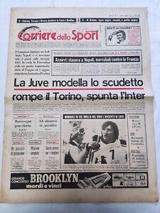 CORRIERE-DELLO-SPORT-6-2-1978-JUVENTUS-NAPOLI-PESCARA-INTER-PIERO-GROS-SCI
