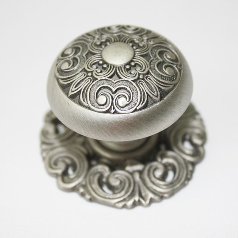 10 pcs Antique Pewter 40mm Knobs Wardrobe Door Cabinet Drawer Handles KW-2344