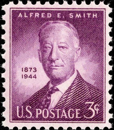 """1945 Alfred Emanuel """"Al"""" Smith, American Statesman Scot"""
