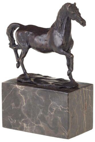 20cm Bronzeskulptur Pferd im Antik-Stil Bronze Figur Statue
