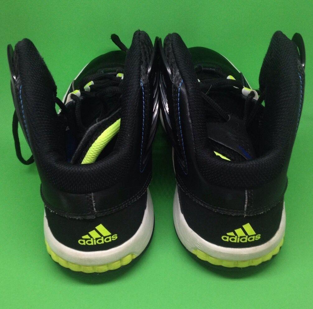Adidas misterfly k bianco nero giallo giallo giallo neon alte scarpe scarpe taglia 6 | Caratteristico  e4986f