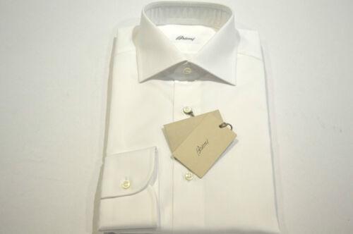 45 100katoenmaat Euwinkelcode 75 Brioni 17 F overhemd Nieuw White us 9YDH2IeWE