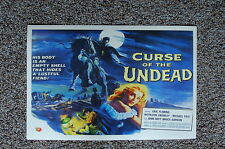 Curse of the Undead Lobby Card Movie Poster Eric Fleming Kathleen Crowley