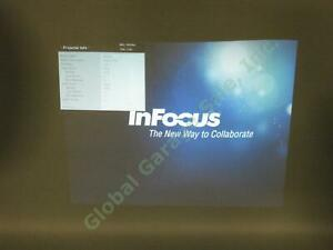 InFocus-DLP-Projector-IN124a-1024x768-3500-Lumens-2715-Lamp-Hours-Tested-Working