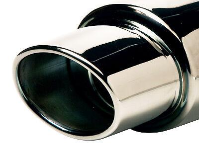 SUMEX RACE SPORT IN ACCIAIO INOX Auto Veicolo Universale Adatta punta di scarico