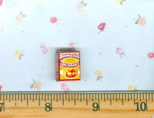 Dollhouse Miniature size Baking and cooking  Coconut Box