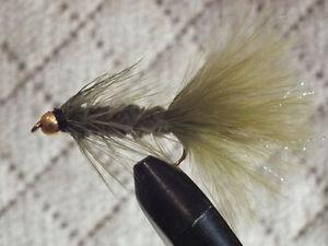 12 1 Dozen Beadhead Brown Stone  Size 8