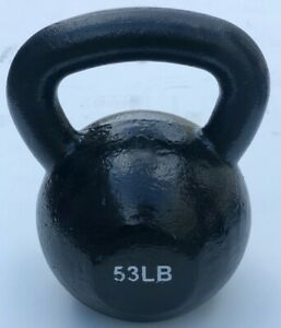 BRAND NEW 50-100LB CAST IRON KETTLE BELLS WEIGHT FOR COMMERCIAL GYM CROSS FIT!