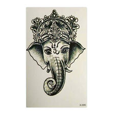 2X Waterproof Temporary Tattoo Sticker Elephant Water Transfer Tattoo Stickers /