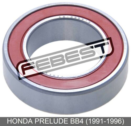 Ball Bearing For Front Drive Shaft 33X55X15 For Honda Prelude Bb4 1991-1996