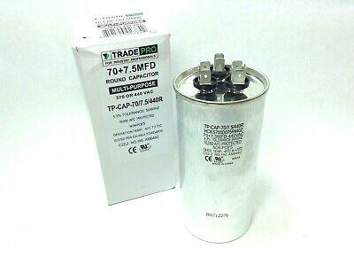 TRADE PRO NIB TP-CAP-25//440 25 MFD Capacitor UNIVERSAL USE