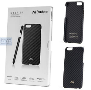 promo code 11e03 02986 Details about Evutec Karbon S Series Sleek Impact Protection Snap Case for  The iPhone 6 Plus S