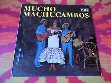 ♫♫♫ Mucho Machucambos * ED1 Decca Stereo SLK 10 309-P ♫♫♫