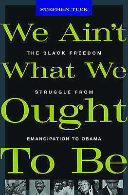 We Ain't What We Ought To Be by Tuck, Stephen Book The Cheap Fast Free Post