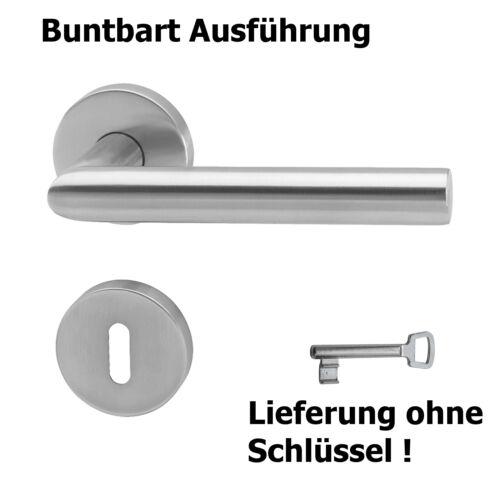 Poignée de porte garniture oppresseurs parure bec en acier inoxydable BB pz wc porte salle de bains forme de L