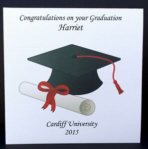 congratulation on your graduation cards personalised congratulations on your graduation card
