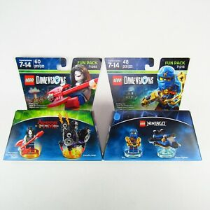 Lego-Dimension-Adventure-Time-Marceline-Ninjago-Jay-Lot-of-2