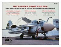 Aoa Decals 1/32 Intruders From The Sea - Usn/usmc A-6a Intruders In Vietnam War