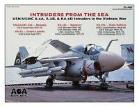 Aoa Decals 1/32 Intruders From The Sea - Usn/usmc A-6a Intruders In Vietnam War