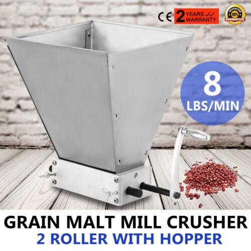 Barley Grinder Gerstebrecher Gerste Crusher justierbar Große Batches Grain