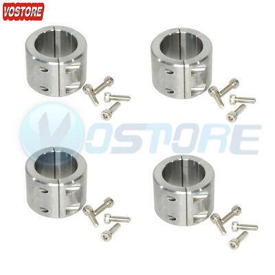 """2 Steel Bolt On Clamps 1.75/"""" 1-3//4/"""" Universal Roll Cage Mounts Lightbar Mounts"""