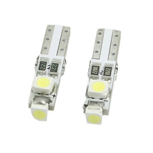 10X T5 WHITE Instrument Panel Cluster Dash Led Lights Bulbs 17 73 74 HID CANBUS