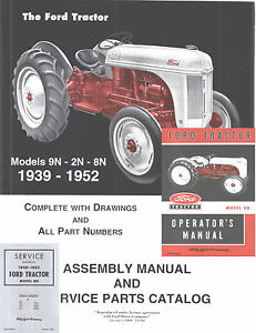 ford 8n 9n tractor service manual repair workshop manuals custom cd rh ebay com Ford 9N Loader Ford 9N Specs