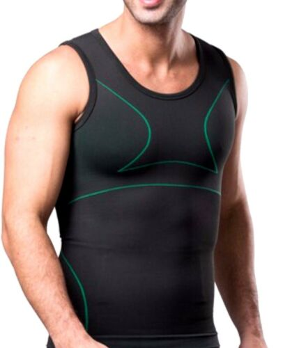 UK Compression Training Sports Gym Vest for Men Belly Buster Underwear Girdle
