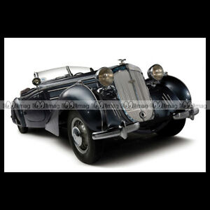 1938 Car Auto #pha.028304 Photo HORCH 853 SPECIAL ROADSTER ERDMANN /& ROSSI
