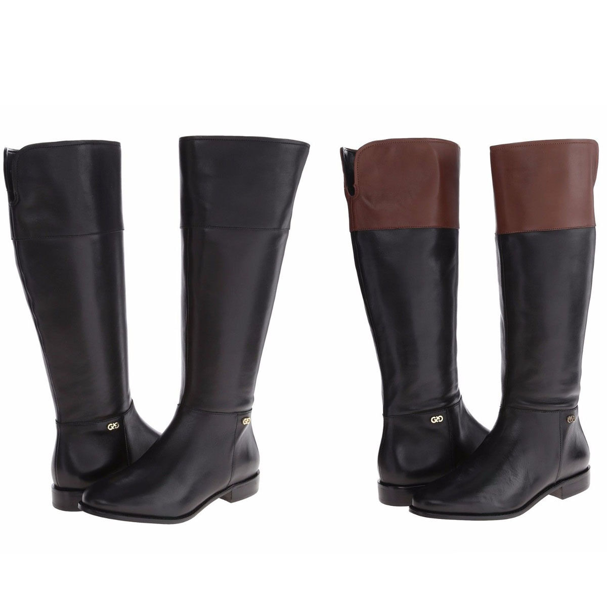 Cole Haan Womens Primpink Riding Side Zip Casual Knee High Tall Fashion Boots