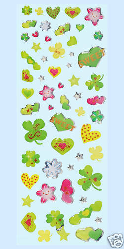 3451683 nuevo suerte Glossy-sticker