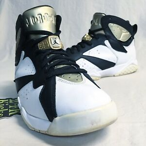 new concept c4aae 2a7ad Image is loading Air-Jordan-Retro-7-Champagne-size-8-5-